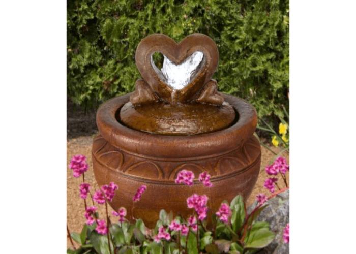 Heart of Hearts Patio Bubbler