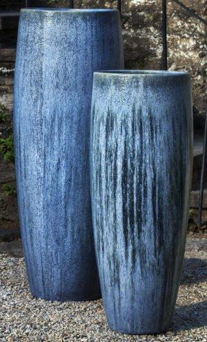 'Blue Pearl' Tall Sabine Planter